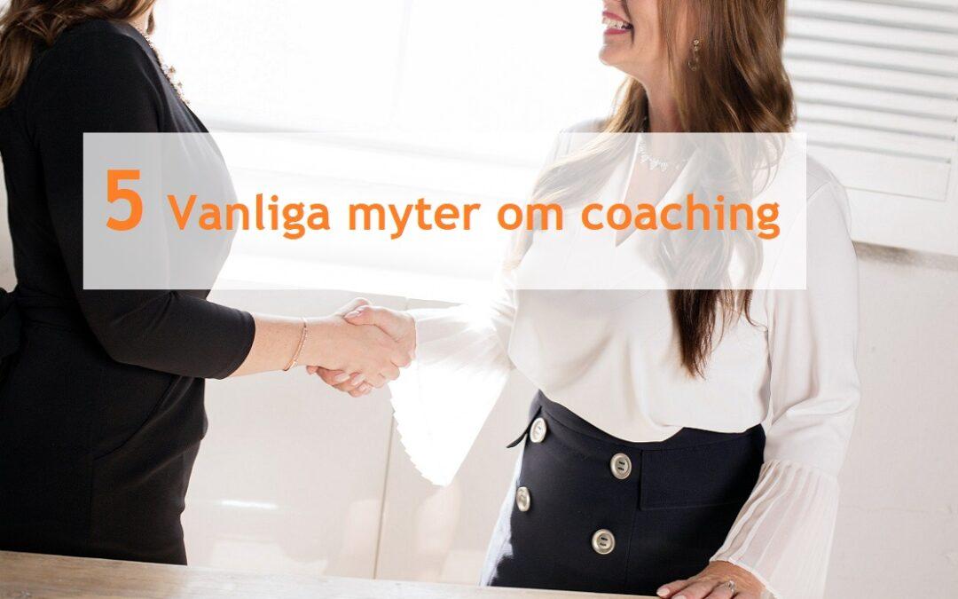 5 vanliga myter om coaching